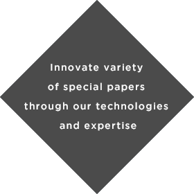 Innovate variety of special papers through our technologies and expertise