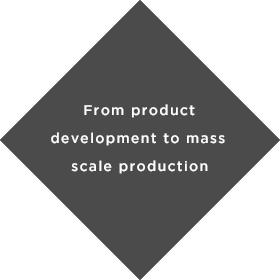 From product development to mass scale production